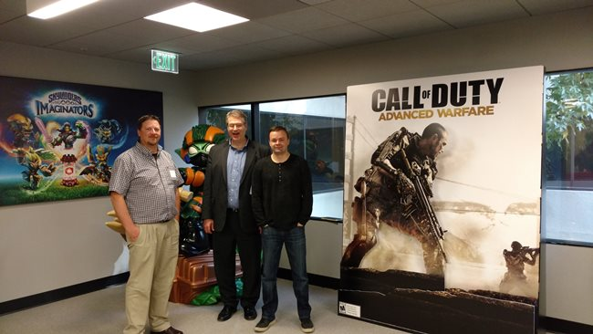 At Activision, which made the games of my childhood.